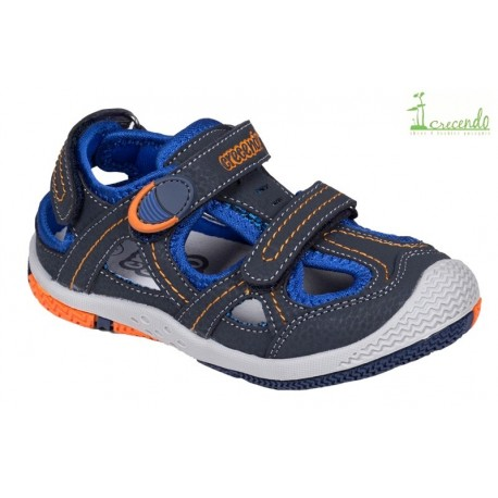Sandalia Sport Niño Azul.Crecendo