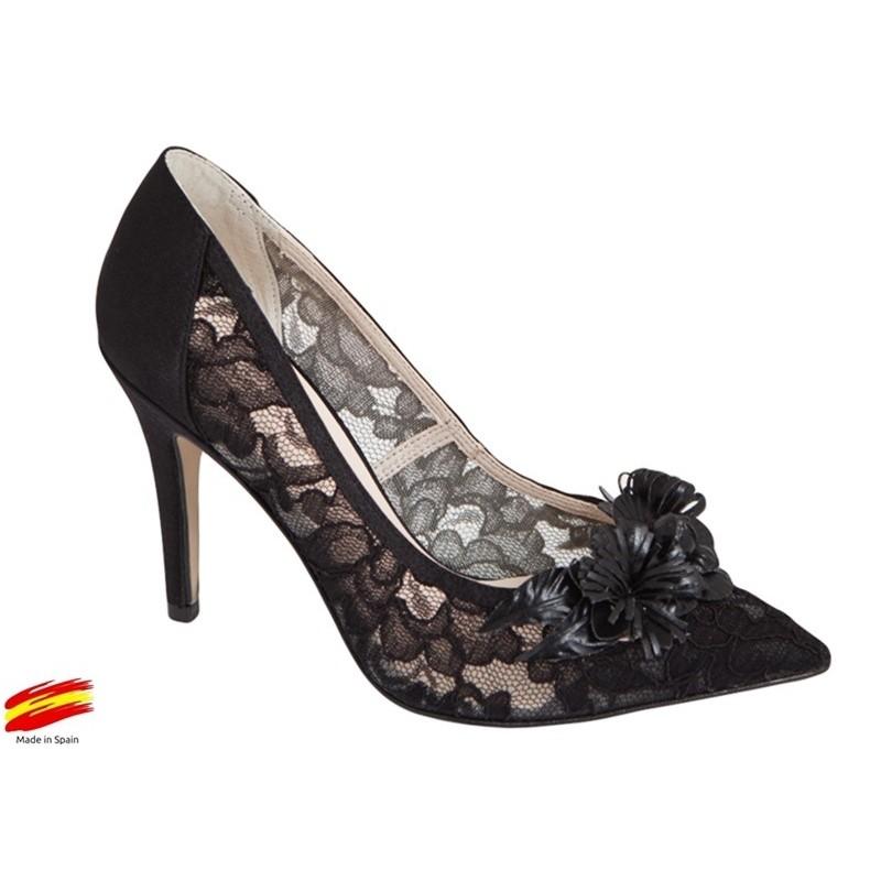 zapato Mujer Vestir Negro. Alarcon