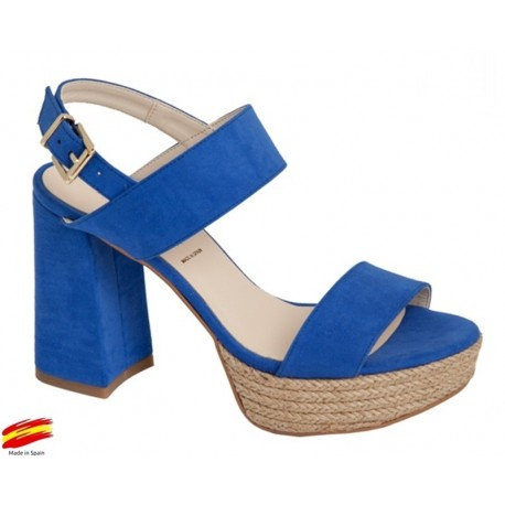 AzulAlarcónZiwi Sandalia Plataforma Tacón Con Shoes Y DHI9e2EbWY