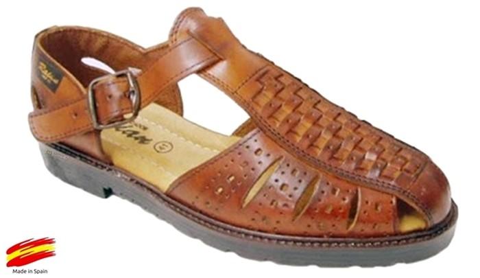 Piel Hombre Sandalia Shoes Ziwi CueroRaian YWIE92HD