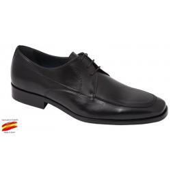 Zapato de Vestir Piel Negro. Almansa