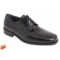 Zapato Todo Piel Ancho Especial 12 . Almansa