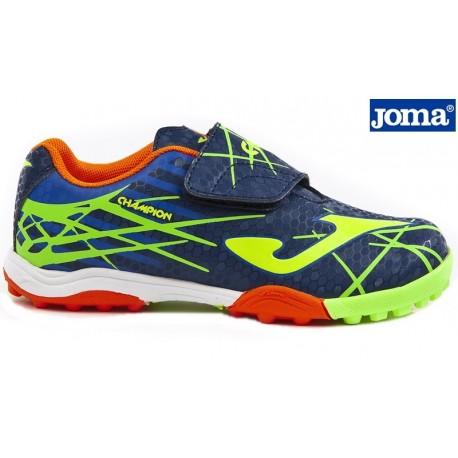 38961e323ccca Zapatilla Velcro Futbol Sala Turf Marino. Joma - Ziwi Shoes