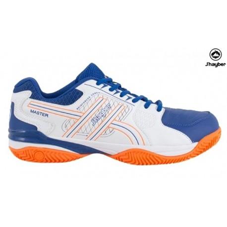 1996fbeda12 Zapatilla Padel Hombre Azul-Blanco. Jhayber - Ziwi Shoes
