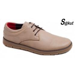 Zapato Sport Muy Cómodo Piel Taupe. S@kut