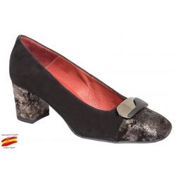 Zapato Ancho Especial Piel Ante. Carlos Pla