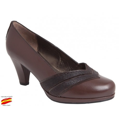 Zapato Piel Mujer Ancho Especial. Carlos Pla