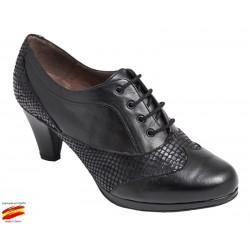 Zapato Cordón Piel Ancho Especial. Carlos Pla
