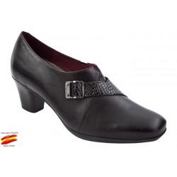 Zapato Plantilla Extraible y Ancho Especial Piel. Sanapie