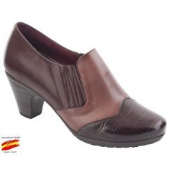 Zapato Elásticos, Plantilla Extraible y Ancho Piel. Sanapie