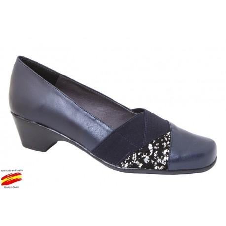 Zapato Confort Piel Mujer. Duendy