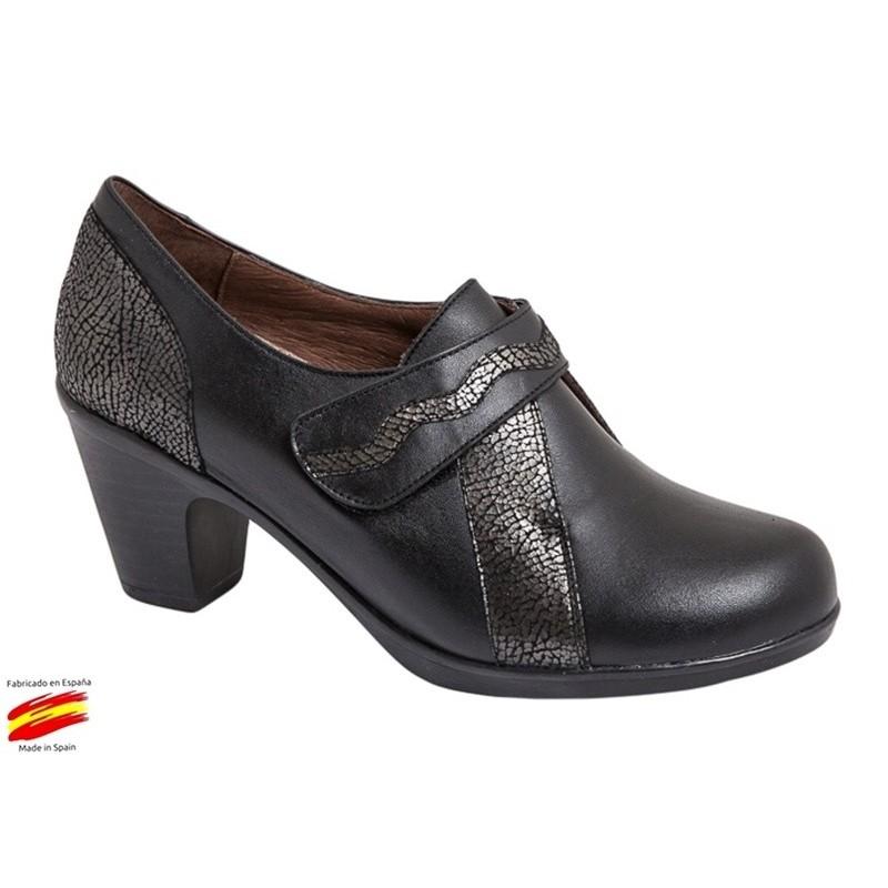 Confort Zapato Ancho Especial y Plantilla Extraible Piel. Coper