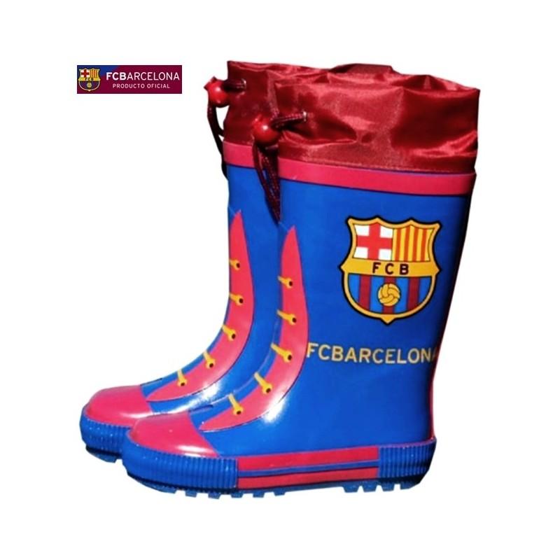 Botas de Agua FC Barcelona Azul Grana.