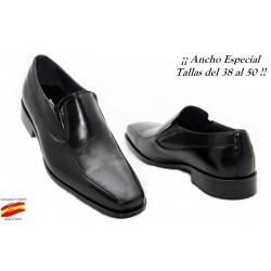 Zapato Todo Piel Ancho Especial 10 . Almansa
