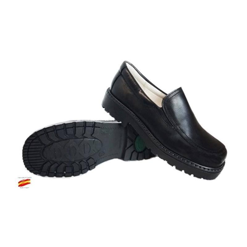 Zapato Colegial Niño-a Todo Piel y Cosido .