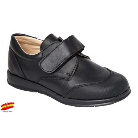 Zapato Colegial Niño Todo Piel Punta Reforzada .