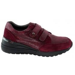 Zapato Velcros Confort Piel y Cuña. Amarpies