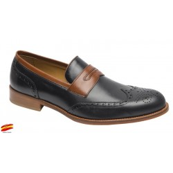 Zapato Elegante todo Piel. Almansa