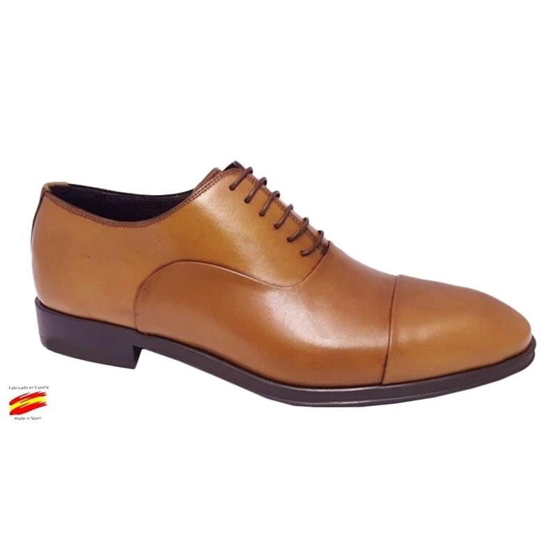 Zapato Confort Piel y suela de Goma. Almansa