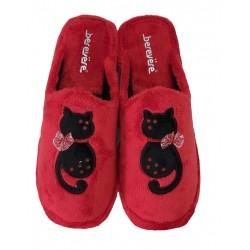 Zapatillas Invierno Mujer Gato. Berevere.