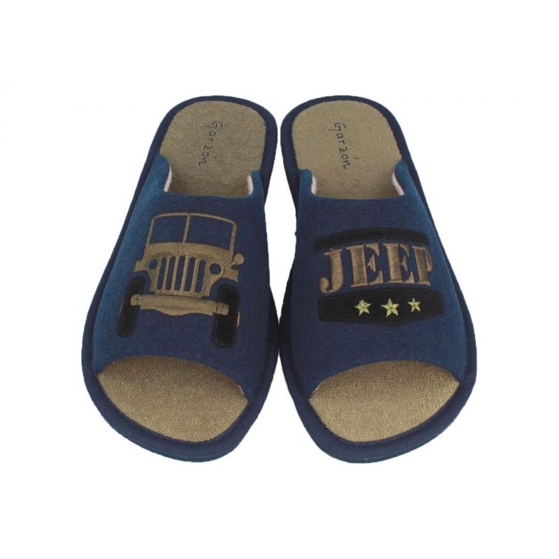 Zapatillas estar por Casa de Hombre Verano Jeep Coche Marino.