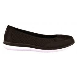 Zapatilla Mujer Color Negro Ligera y Confortable . Sweden Kle