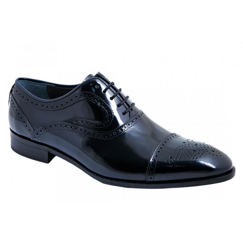 Zapato Novio Piel Florentic Azul. Fenatti
