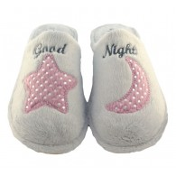 "Zapatillas De Casa Invierno de Mujer ""Good Night"". Garzón"