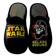 """Zapatillas Casa Invierno Hombre """"Star wars helado oscuro"""". Se Me Ríen Los Pies"""