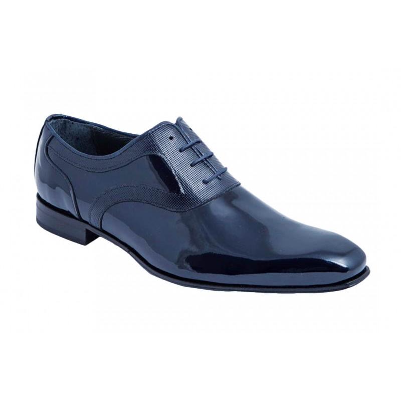 Zapato Piel Charol Marino.Fenatti