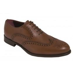 Zapato de Hombre estilo Oxford Elegante Todo Piel Cuero. Almansa.