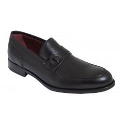 Zapato de vestir Hombre En Piel Negro. JR Almansa