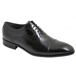 Zapato Elegante Gran Calidad Todo Piel Florentic Negro.