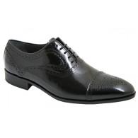 Zapato Novio Elegante Gran Calidad Todo Piel Florentic Negro. Zapato de Hombre de Vestir