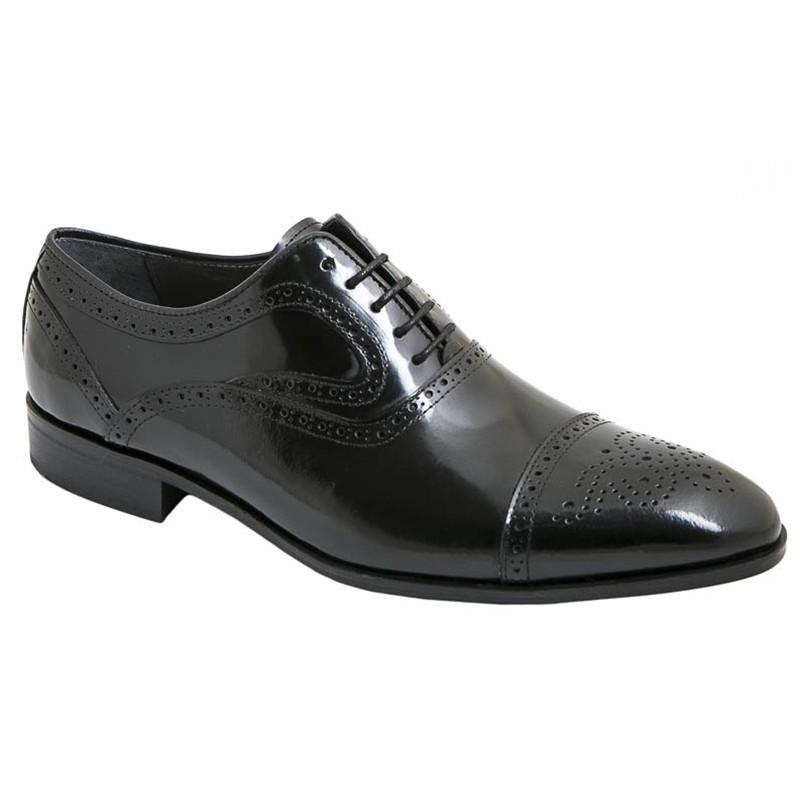 Zapato Novio Piel Florentic Negro. Fenatti