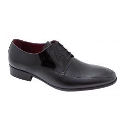 Zapato Novio Color Negro Todo Piel Charol. Jr Almansa