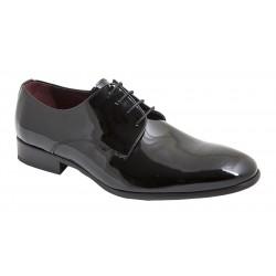 Zapato Hombre Piel Charol Negro. Jr Jimenez