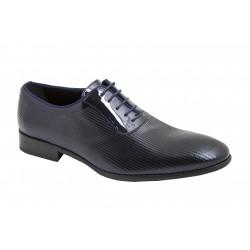 Zapato Hombre Elegante y Cómodo Todo Piel Charol. Jr Almansa