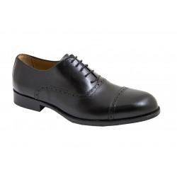 Zapato Almansa de Vestir Piel Negro. JR Almansa