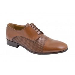 Zapato de Vestir Hombre Todo Piel Cuero. JR Almansa