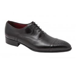 Zapato de Vestir Piel Negro.JR Jimenez