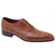 Zapato Hombre estilo Blucher para traje Elegante de Vestir Todo Piel.