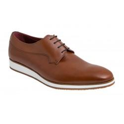 Zapato Piel Vestir Casual cuero. Jr Jimenez