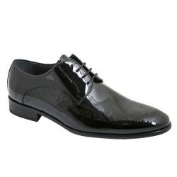 Zapato Elegante de Vestir Hombre Piel Charol.