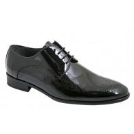 Zapato Elegante de Vestir Hombre Novio Piel Charol.