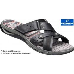 Sandalia Sport Gran Calidad y Confort en Piel. Pegada