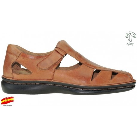 Todo Cosido Piel CrispinoZiwi Sandalia Cómoda Shoes Kc1JlTF3